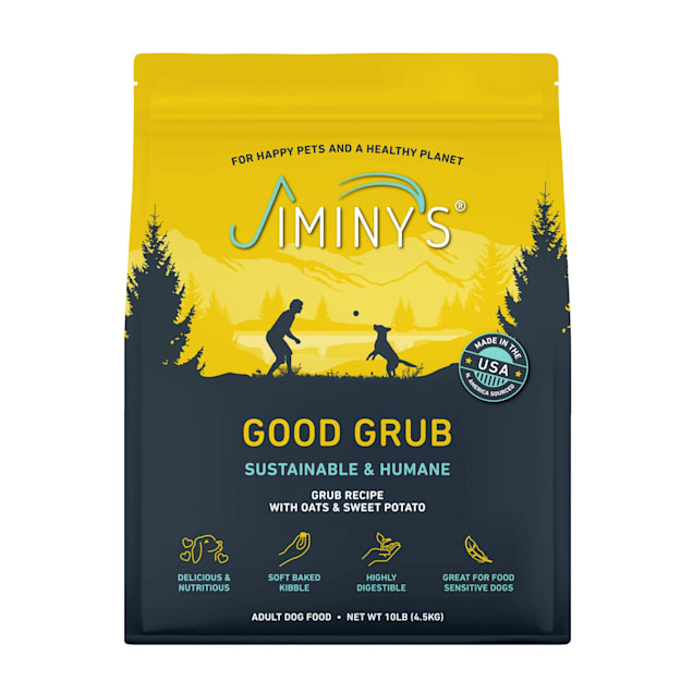 Jiminy's Good Grub Dry Dog Food, 10 lbs. - Carousel image #1