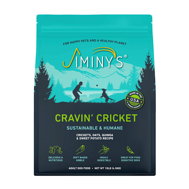 Jiminy's Cricket Crave Dry Dog Food, 10 lbs. - Carousel image #1