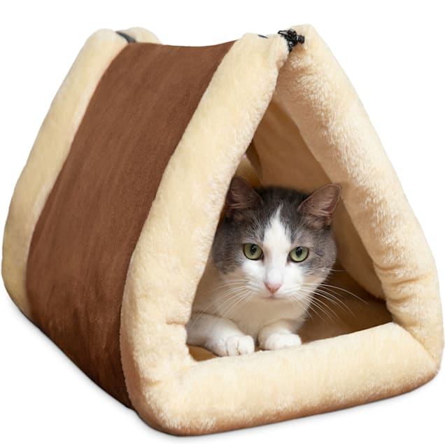 Paws & Pals 2 IN 1 Tunnell Cat Bed, 35'' L X 21'' W - Carousel image #1