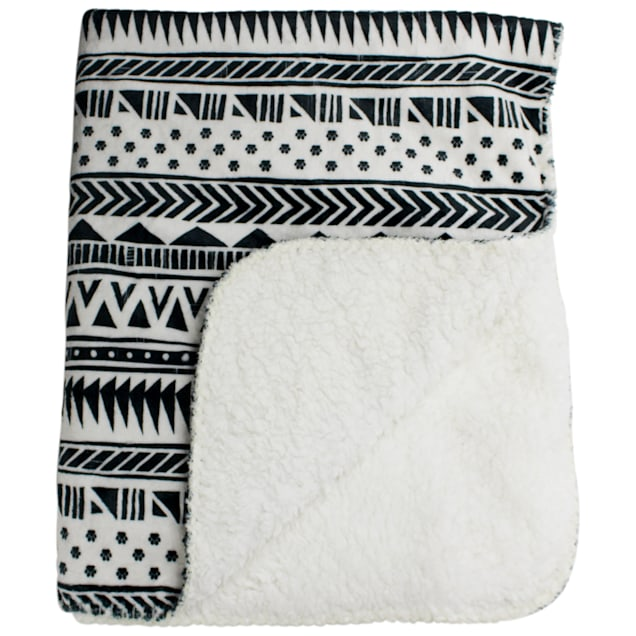 """Be One Breed Aztec Soft Pet Blanket, 12.6"""" L X 5.51"""" W X 0.2"""" H - Carousel image #1"""