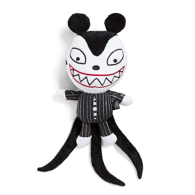 Best Friends by Sheri Disney Black Nightmare Christmas Scary Teddy Plush Chew Dog Toy, Medium - Carousel image #1