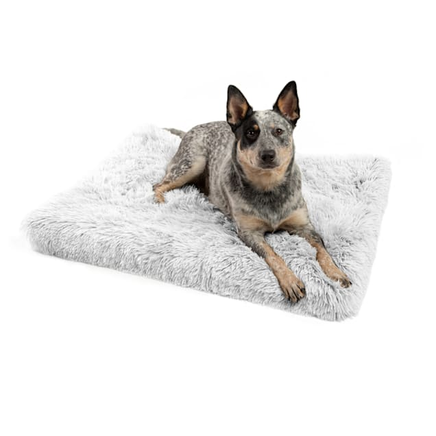 """Best Friends by Sheri Frost Calming Shag Fur CertiPUR Orthopedic Nap Mat for Dogs, 36"""" L X 27"""" W - Carousel image #1"""