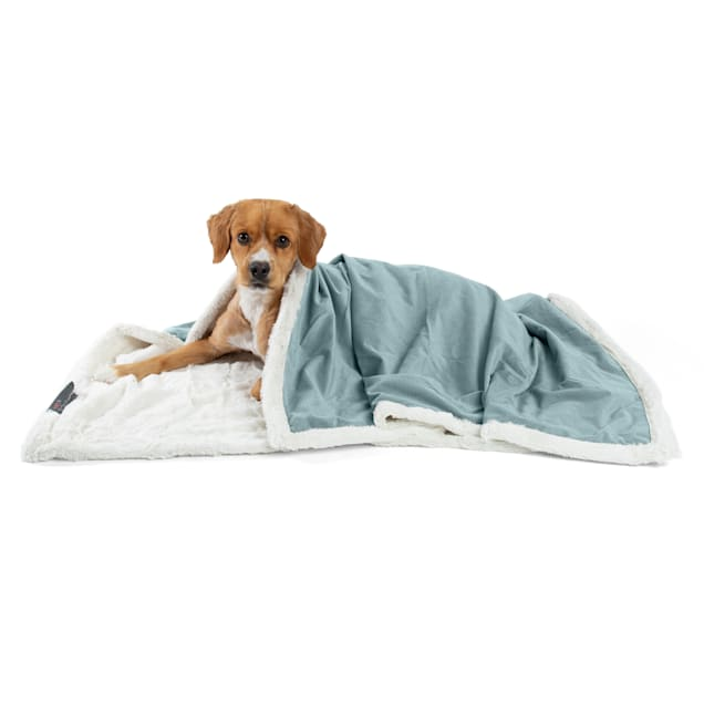 """Best Friends by Sheri Tide Microfiber Faux Fur Ilan Blanket for Pets, 40"""" L X 50"""" W - Carousel image #1"""