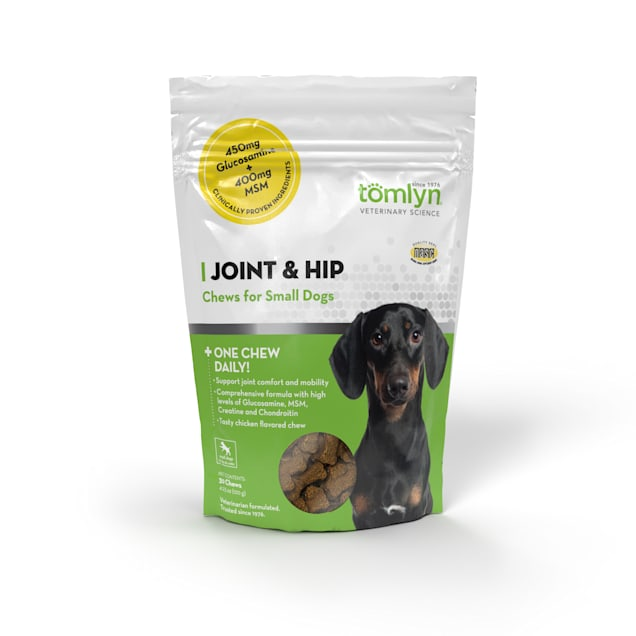 Tomlyn Joint & Hip Chews for Small Dogs, 4.23 oz., Count of 30 - Carousel image #1