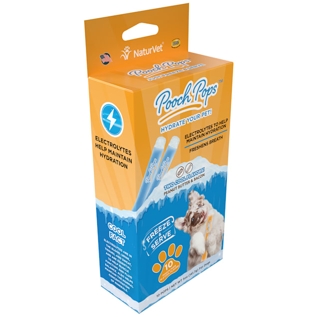 NaturVet Pooch Pops for Dogs, Count of 10 - Carousel image #1