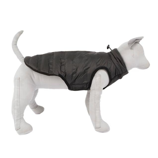 KONG Black Parachute Puffer Dog Jacket, Small - Carousel image #1
