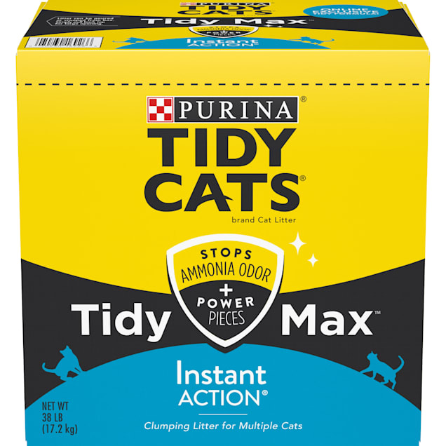 Tidy Cats Clumping Max Instant Action Multi Cat Litter, 38 lbs. - Carousel image #1