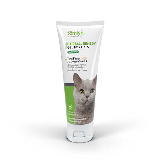 Tomlyn Laxatone Tuna Flavored Hairball Remedy Gel for Cats, 2.5 oz. - Carousel image #1