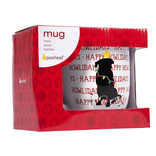 Pearhead Pet Happy Howlidays 16 oz. Ceramic Dog Coffee Mug - Carousel image #1