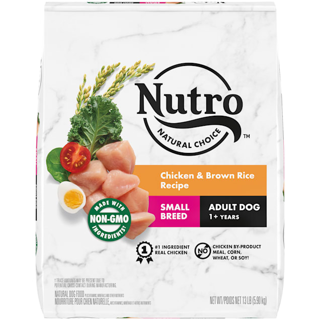 Nutro Natural Choice Chicken & Brown Rice Recipe Small Breed Adult Dry Dog Food, 13 lbs. - Carousel image #1