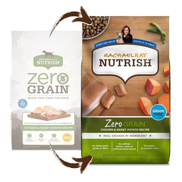Rachael Ray Nutrish Zero Grain Chicken & Sweet Potato Recipe Dry Dog Food, 5.5 lbs. - Carousel image #1