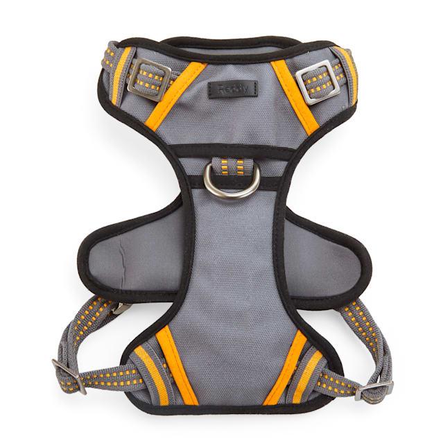 Reddy Grey & Yellow Dog Harness, Medium - Carousel image #1