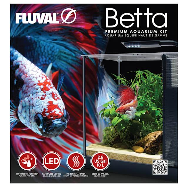 Fluval Betta Premium Aquarium Kit, 2.6 Gallon - Carousel image #1