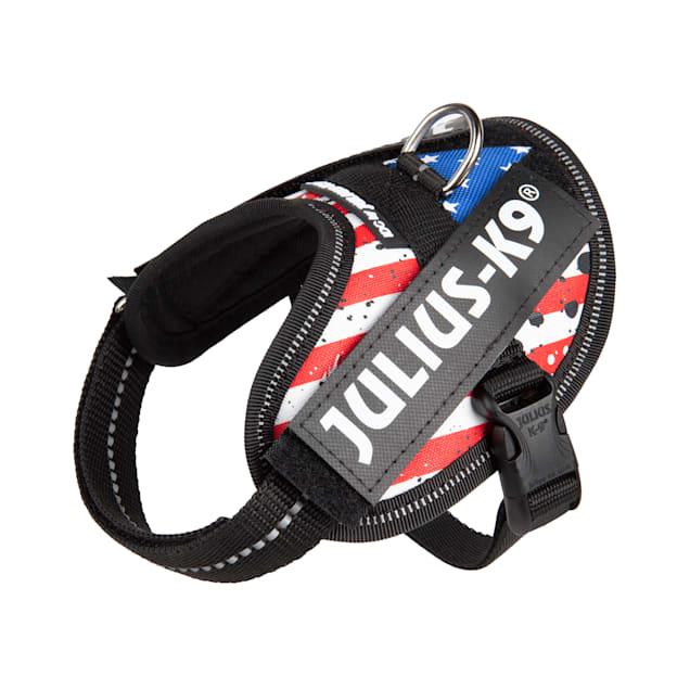 Julius-K9 USA Flag Dog Harness, 3X-Small - Carousel image #1