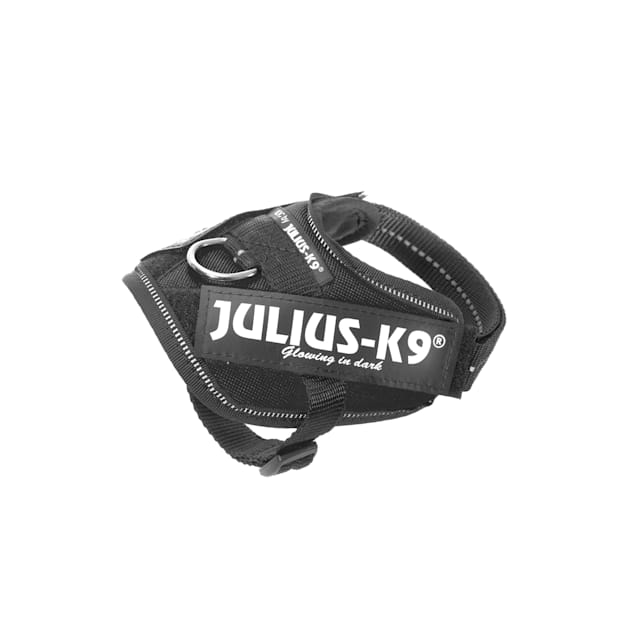 Julius-K9 Black Dog Harness, 3X-Small - Carousel image #1