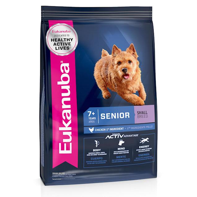 Eukanuba Senior Small Breed Dry Dog Food, 4.5 lbs. - Carousel image #1