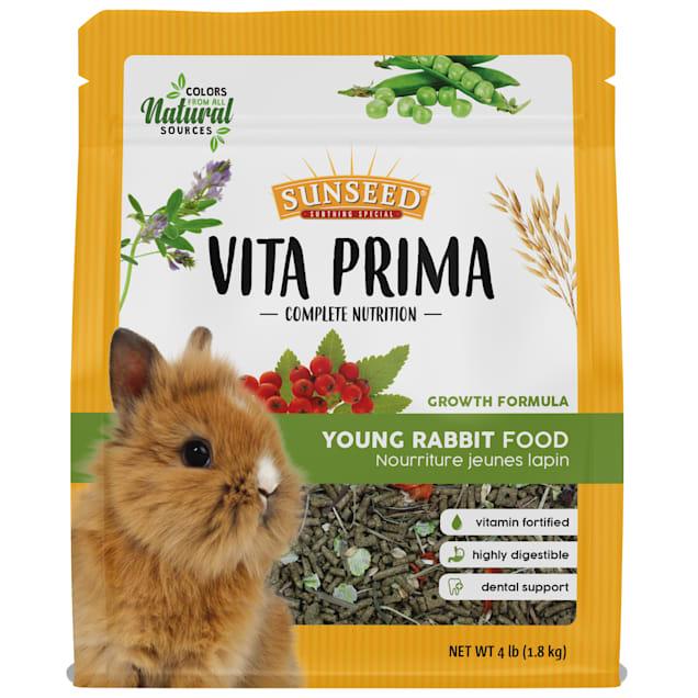 Sun Seed Vita Prima Young Rabbit Food, 4 lbs. - Carousel image #1