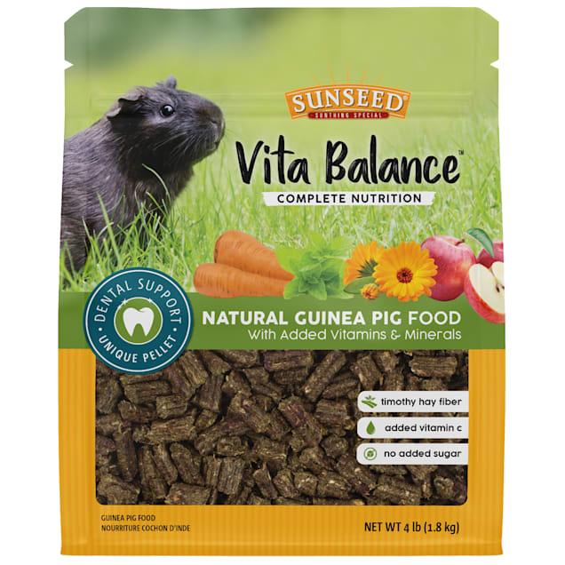 Sun Seed Vita Balance Guinea Pig Food, 4 lbs. - Carousel image #1