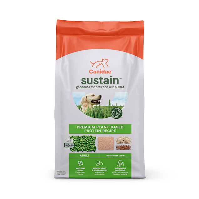 Canidae Sustain Premium Plant-Based Protein Recipe Adult Dry Dog Food, 18 lbs. - Carousel image #1