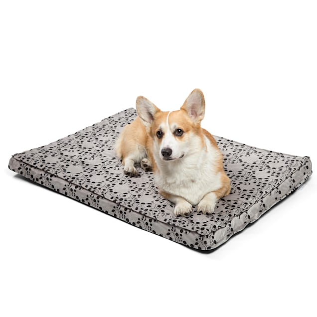 """Best Friends by Sheri Disney Gray Nighmare Before Christmas Jack Skellington Expression CertiPUR Nap Mat for Dogs, 36"""" L X 27"""" W - Carousel image #1"""