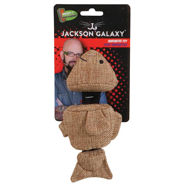 Jackson Galaxy Sliding Fish Marinater Toy for Cats, Large - Carousel image #1