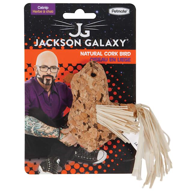 Jackson Galaxy Natural Cork Bird Cat Toy, Small - Carousel image #1