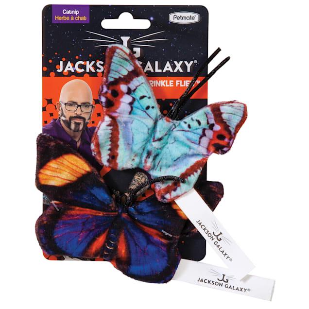 Jackson Galaxy Crinkleflies Cat Toy, Medium - Carousel image #1