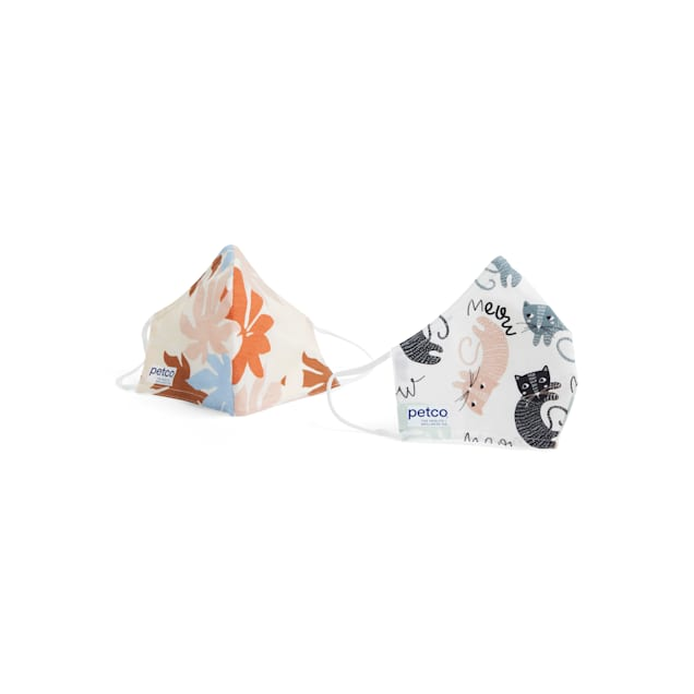 Petco The Purr-fect Face Masks, Pack of 2 - Carousel image #1