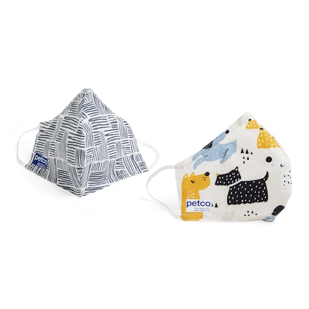 Petco Wag Worthy Face Masks, Pack of 2 - Carousel image #1