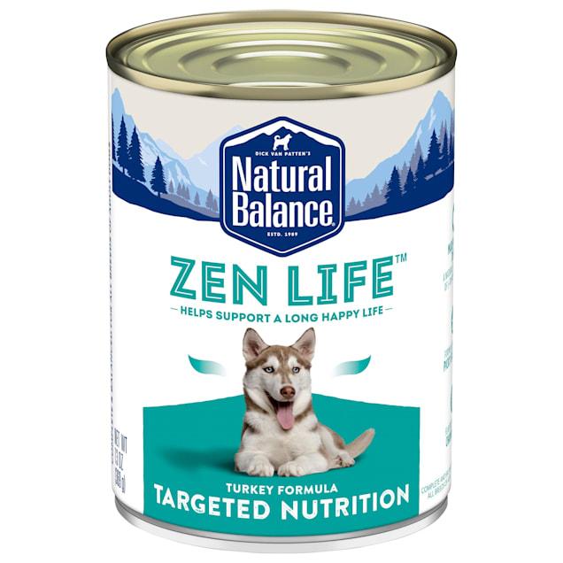 Natural Balance Zen Life Turkey Formula Wet Dog Food, 13 oz., Case of 12 - Carousel image #1