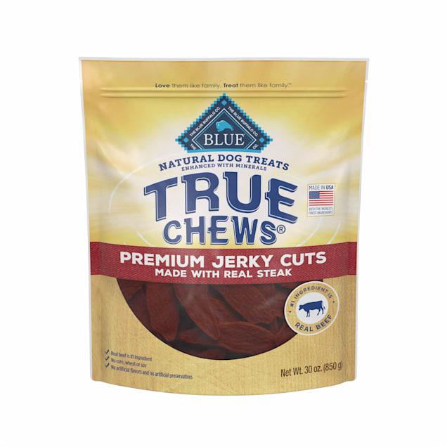 True Chews Premium Jerky Cuts Made with Real Steak Dog Treats, 30 oz. - Carousel image #1