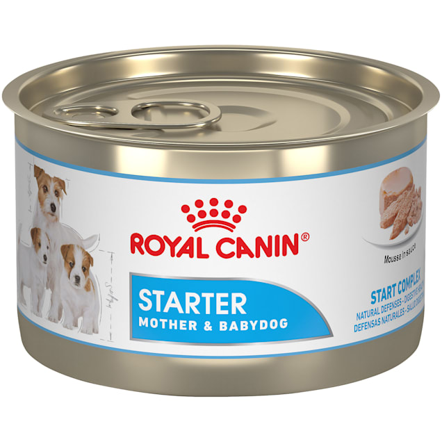 Royal Canin Size Health Nutrition Starter Mousse In Sauce Mother & Babydog Loaf in Sauce Canned Dog Food, 5.1 oz., Case of 24 - Carousel image #1