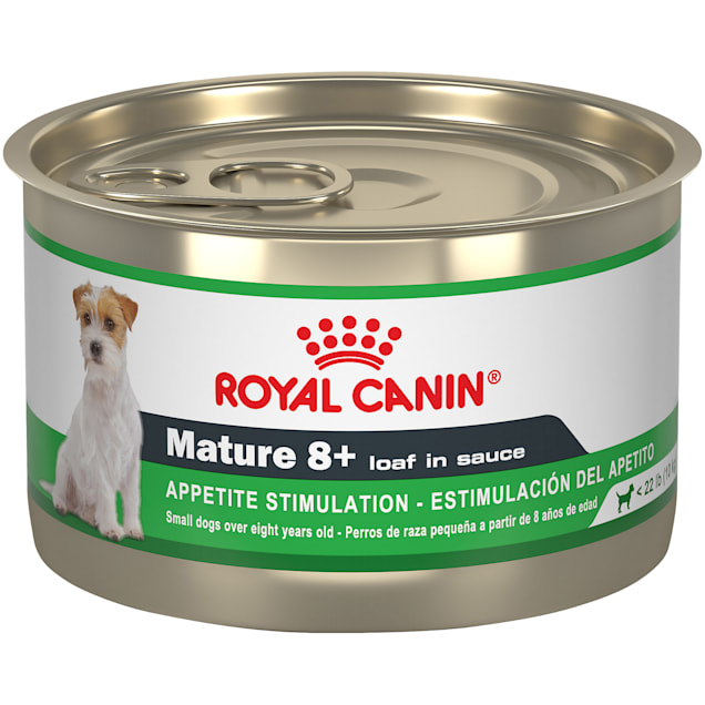 Royal Canin Canine Health Nutrition Mature 8+ Loaf In Sauce Canned Dog Food, 5.2 oz., Case of 24 - Carousel image #1