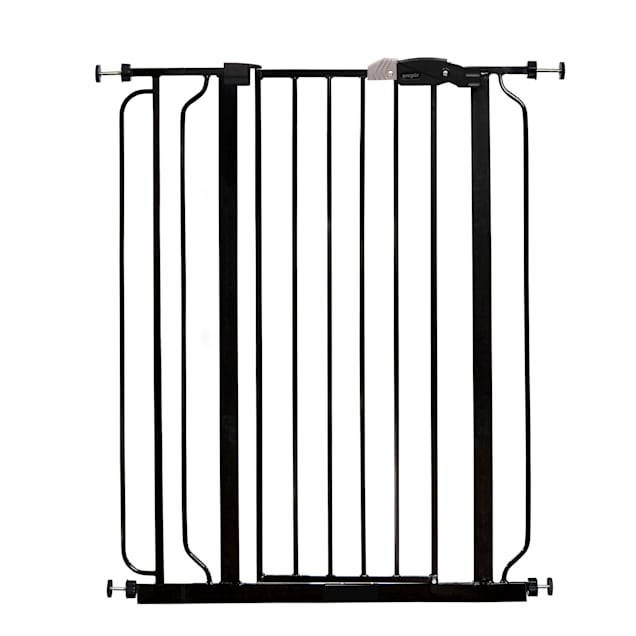 "Regalo Black Extra Tall Metal Pet Gate, 2"" L X 36.5"" W X 41"" H - Carousel image #1"