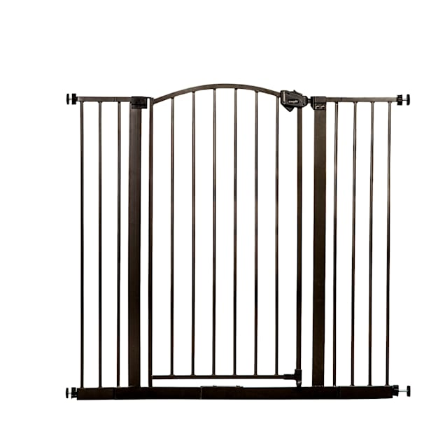 """Regalo Extra Tall Bronze Arched Decor Pet Gate, 2"""" L X 35"""" W X 36"""" H - Carousel image #1"""
