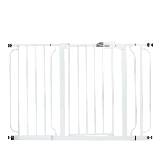"Regalo White Extra Wide Metal Pet Gate, 2"" L X 49"" W X 30"" H - Carousel image #1"