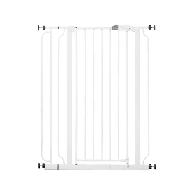 "Regalo White Extra Tall Metal Pet Gate, 2"" L X 36.5"" W X 41"" H - Carousel image #1"