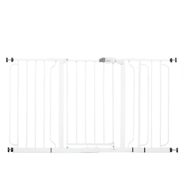 """Regalo Extra Widespan Metal Pet Gate, 2"""" L X 56"""" W X 30"""" H - Carousel image #1"""