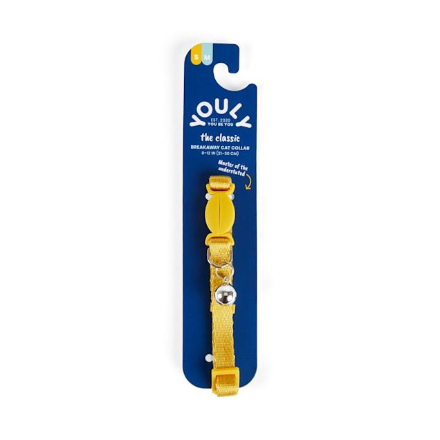 YOULY The Classic Yellow Breakaway Cat Collar - Carousel image #1