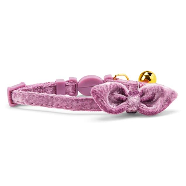 YOULY The Heir Lavender Velvet Breakaway Kitten Collar - Carousel image #1