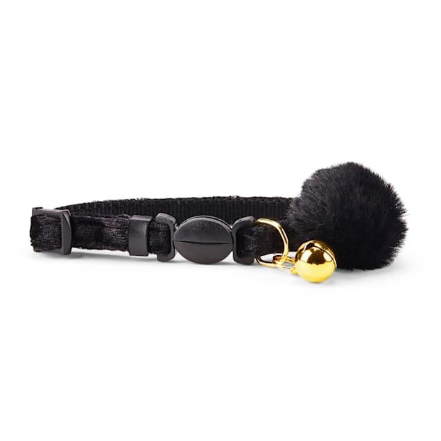 YOULY The Heir Black Velvet Breakaway Kitten Collar - Carousel image #1