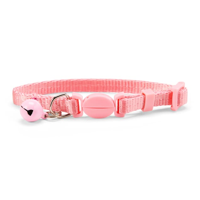 YOULY The Classic Baby Pink Breakaway Kitten Collar - Carousel image #1