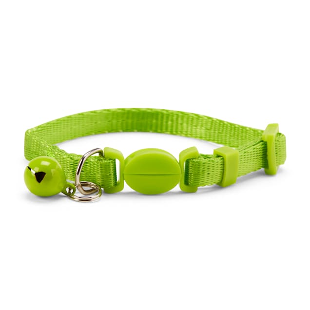 YOULY The Classic Lime Green Breakaway Kitten Collar - Carousel image #1