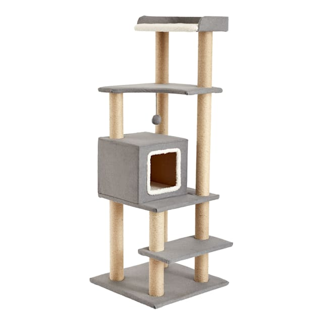 """Two by Two Sequoia Cat Tree, 21.7"""" L X 21.7"""" W X 51.2"""" H - Carousel image #1"""
