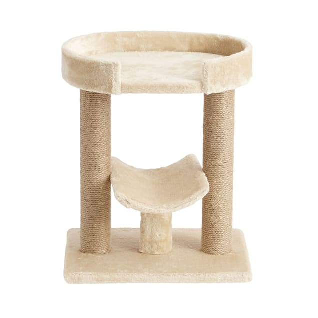 """Two by Two Laurel Cat Tree, 13.4"""" L X 17.7"""" W X 21.1"""" H - Carousel image #1"""