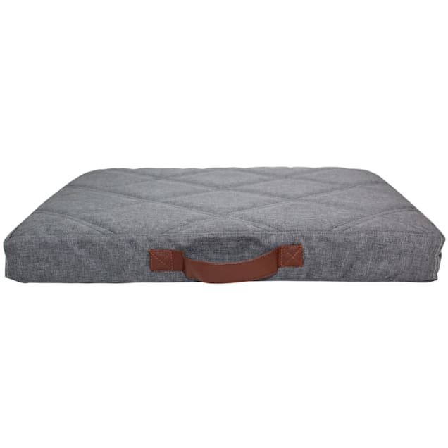 """Be One Breed Dark Gray Power Nap Bed for Pets, 34.9"""" L X 23"""" W X 3.94"""" H - Carousel image #1"""