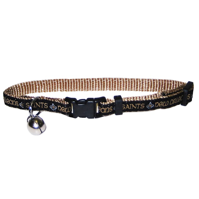 Pets First New Orleans Saints Cat Collar - Carousel image #1