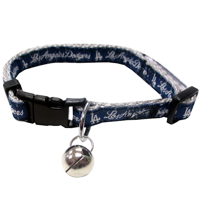Pets First Los Angeles Dodgers Cat Collar - Carousel image #1