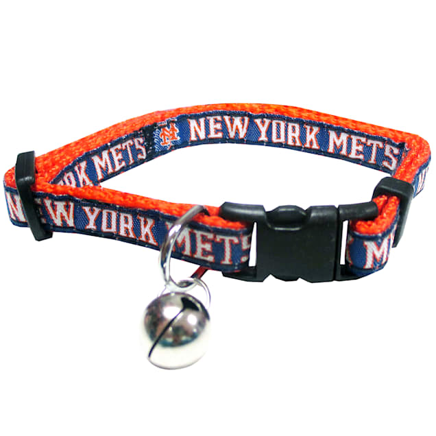 Pets First New York Mets Cat Collar - Carousel image #1