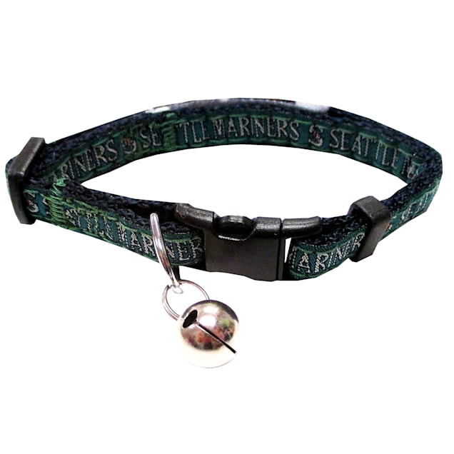 Pets First Seattle Mariners Cat Collar - Carousel image #1